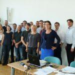 Gruppenbild aller Akteure des Innoteams bei der Auftaktveranstaltung